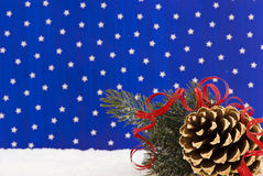 Christmas with Blue Sky Royalty Free Stock Photo