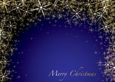 Christmas blue star Stock Photo