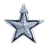 Christmas blue star Stock Image