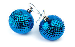 Christmas blue toy Royalty Free Stock Photography