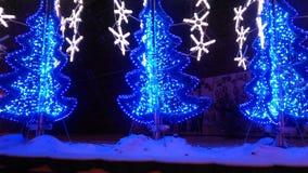 Christmas bluenight stock images