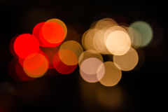 Christmas blur light. Background.Abstract on black background Royalty Free Stock Images