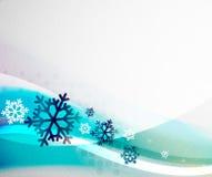 Christmas blur wave Royalty Free Stock Image