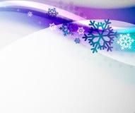Christmas blur wave Stock Photo