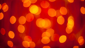 Christmas blured lights background Stock Image