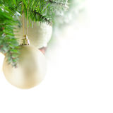 Christmas blurred background border Royalty Free Stock Photos