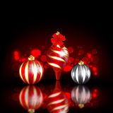 Christmas Blurred Design Royalty Free Stock Photos