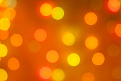 Christmas blurred lights Stock Photos