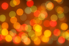 Christmas blurred lights Royalty Free Stock Images