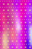 Christmas blurry, bright background with golden snowflakes Royalty Free Stock Photography