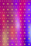 Christmas blurry, bright background with golden stars Royalty Free Stock Photography
