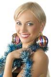 Christmas boa Royalty Free Stock Photo