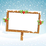 Christmas board Royalty Free Stock Photos