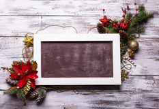 Christmas board Royalty Free Stock Photography