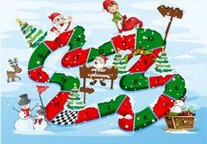 A christmas boardgame Royalty Free Stock Photos