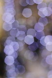 Christmas boke light purple Stock Photo