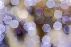 Christmas boke light purple background Stock Photography