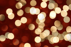 Christmas bokeh Stock Photography