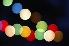Christmas bokeh Stock Image