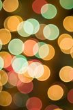 Christmas bokeh Stock Photo