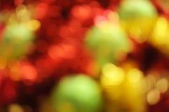 Christmas bokeh Stock Images