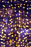 Christmas bokeh Stock Images