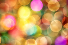 Christmas Bokeh Abstract Background Royalty Free Stock Images