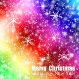 Christmas bokeh Stock Photos
