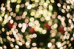 Christmas Bokeh Abstract use for Background Stock Photos