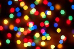 Christmas bokeh background Stock Photography