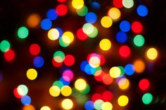 Christmas bokeh background stock photos
