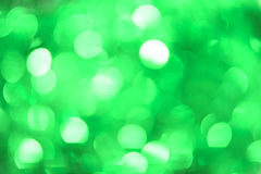 Christmas Bokeh Background: Mint Green. Stock Image. Royalty Free Stock Photo