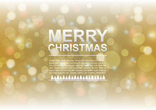 Christmas bokeh background. Rgb mode Royalty Free Illustration
