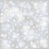Christmas bokeh. Background with stars royalty free illustration
