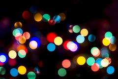 Christmas Bokeh Background. For Your Christmas Card Or Poster Stock Images