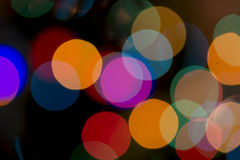 Christmas Bokeh Background. For Your Christmas Card Or Poster Stock Photos