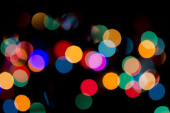 Christmas Bokeh Background. For Your Christmas Card Or Poster Royalty Free Stock Images