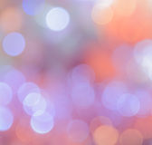 Christmas bokeh lights background Stock Image