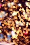 Christmas bokeh lights background royalty free stock photography