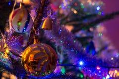 Christmas bomb Stock Photo