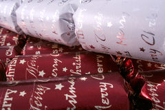 Christmas bon bons Stock Photo