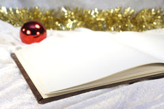 Christmas book Royalty Free Stock Images
