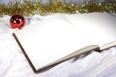 Christmas book Stock Photos