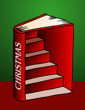 Christmas Book Illustration Stock Images