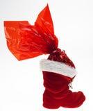 Christmas boot Stock Photo