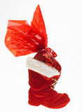 Christmas boot Royalty Free Stock Photography