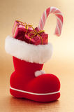 Christmas Boot Stock Image