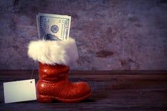 Christmas boot Stock Photography