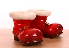 Christmas boots Royalty Free Stock Images