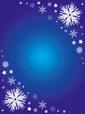 Christmas border. Winter border - additional ai and eps format available on request Stock Images